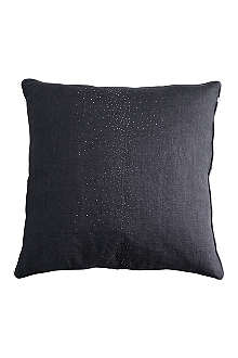 TINE K HOME Linen cushion with metal dots