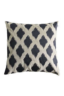 TINE K HOME Velvet embroidered cushion