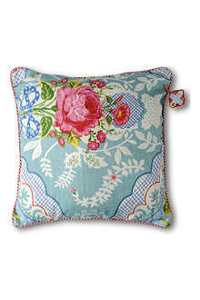 PIP STUDIO Shabby chic blue cushion