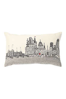 CHARLENE MULLEN London Calling cushion