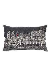 CHARLENE MULLEN OXO Tower by Night cushion