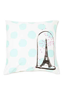 LA CERISE SUR LE GATEAU Eiffel Tower cushion cover