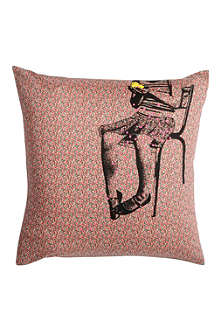 LA CERISE SUR LE GATEAU Fanette Liberty cushion cover