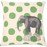 LA CERISE SUR LE GATEAU Elephant cushion cover
