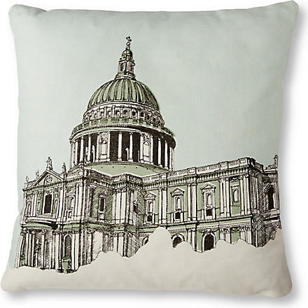 MR WINGATE St Paul's Cathedral cushion cover with pad