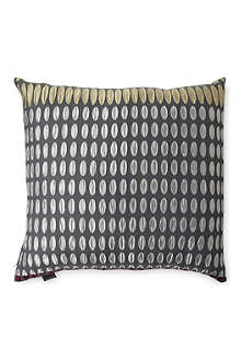 MARGO SELBY Gunmetal cushion