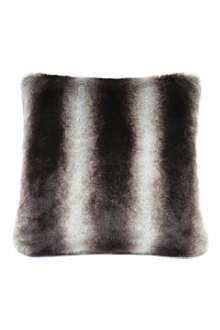 HELEN MOORE Chincilla faux-fur cushion