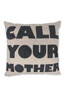 ALEXANDRA FERGUSON Call Your Mother cushion