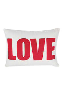 ALEXANDRA FERGUSON Love cushion