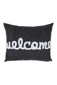 ALEXANDRA FERGUSON Welcome cushion