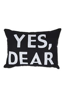 ALEXANDRA FERGUSON Yes Dear cushion