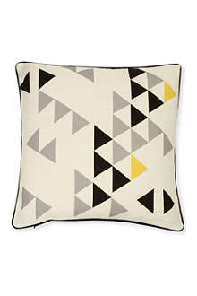 A MINDS EYE Polygon cushion