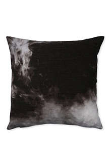 Smoke digital print cushion