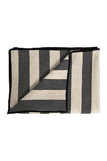 TORI MURPHY Marshall striped throw