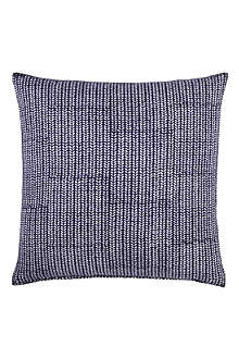 JOHN ROBSHAW Aleppo indigo decorative cushion