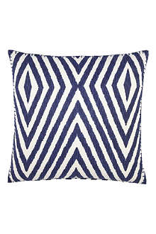 JOHN ROBSHAW Khiva indigo decorative cushion