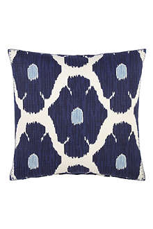 JOHN ROBSHAW Poppy indigo decorative cushion