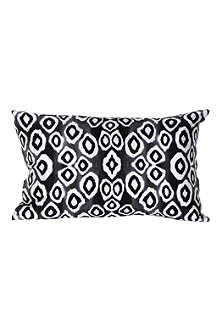 MARISKA MEIJERS Coco Ikat black cushion
