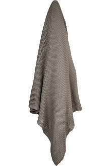 HOUSE IN STYLE Oxford knitted throw
