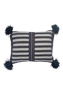 TRACEY BOYD Tassel cushion