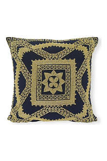 TRACEY BOYD Eiffel Star beaded cushion