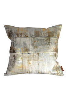 MUMO Foil patchwork cushion