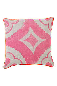 BONNIE AND NEIL Dahlia Fluoro cushion