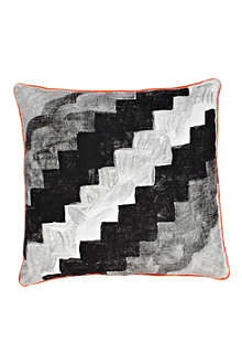 BONNIE AND NEIL Zig Zag Tile cushion
