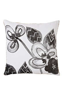 BONNIE AND NEIL Porcelain print cushion