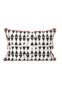 FERM LIVING Worn Triangle cushion