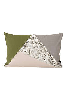 FERM LIVING Fusion Triangle cushion