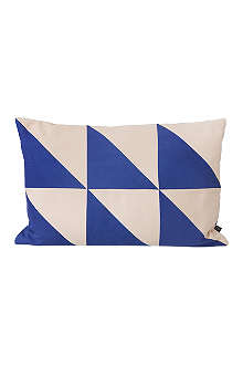 FERM LIVING Twin Triangle cushion
