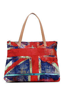 VIVIENNE WESTWOOD Crawford Union Jack shopper