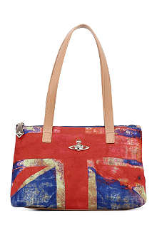 VIVIENNE WESTWOOD Crawford Union Jack shoulder bag