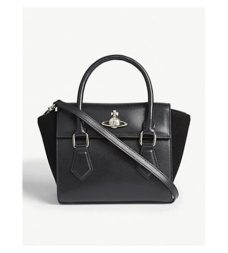 ... VIVIENNE WESTWOOD Matilda small leather shoulder bag (Black.  PreviousNext af9d14a72b8d6