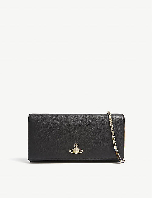 Clutch Bag, Water Green, Leather, 2017, one size Vivienne Westwood