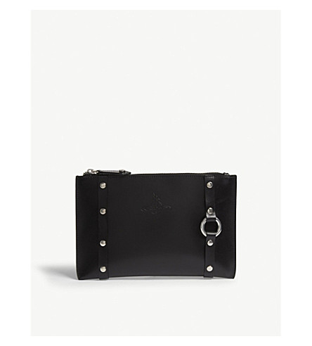VIVIENNE WESTWOOD Betty zipped pouch (Black