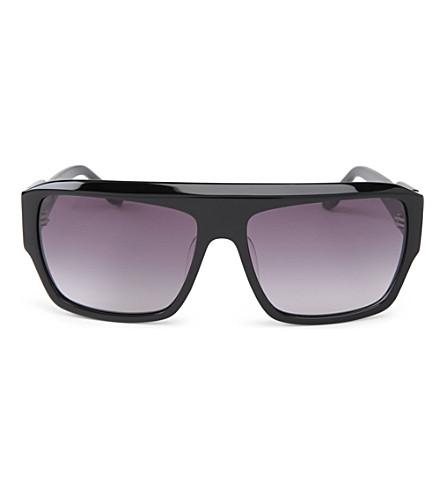 VIVIENNE WESTWOOD Square frame sunglasses (Black
