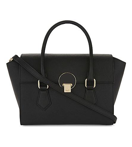VIVIENNE WESTWOOD Saffiano leather handbag (Black