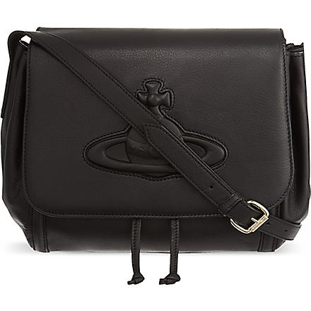 VIVIENNE WESTWOOD Chelsea cross-body bag (Black