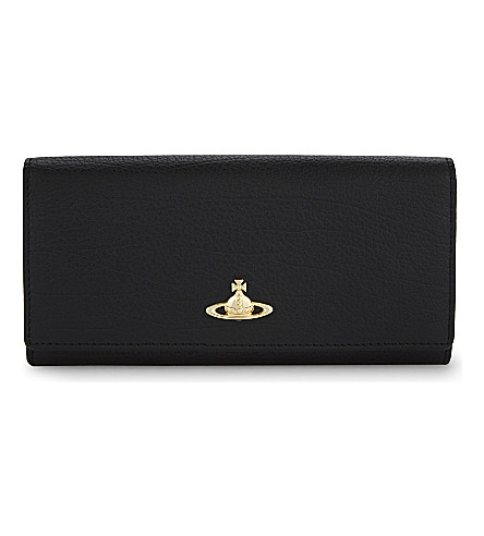 VIVIENNE WESTWOOD Balmoral leather wallet (Black