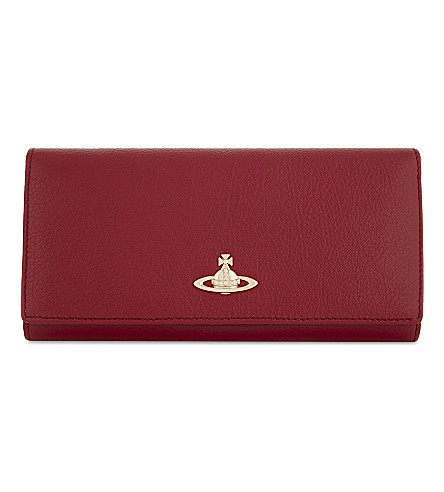 VIVIENNE WESTWOOD Balmoral leather wallet (Red