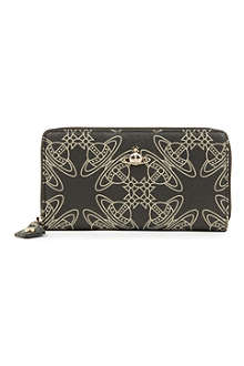VIVIENNE WESTWOOD Logomania zip-around wallet