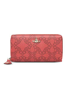 VIVIENNE WESTWOOD Logomania leather wallet