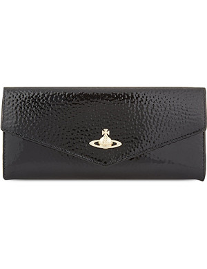 VIVIENNE WESTWOOD Apollo patent leather flap purse