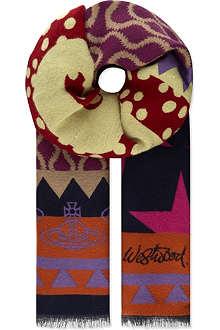 VIVIENNE WESTWOOD Plus 5 scarf