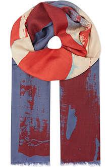 VIVIENNE WESTWOOD Flag scarf