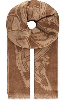 VIVIENNE WESTWOOD Sketch orb scarf