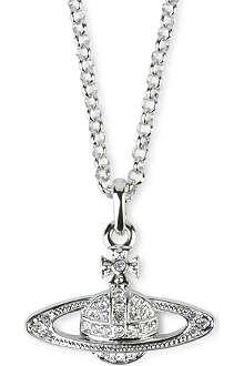 VIVIENNE WESTWOOD Bas Relief Orb pendant necklace