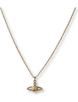VIVIENNE WESTWOOD JEWELLERY Mini Bas Relief Orb pendant